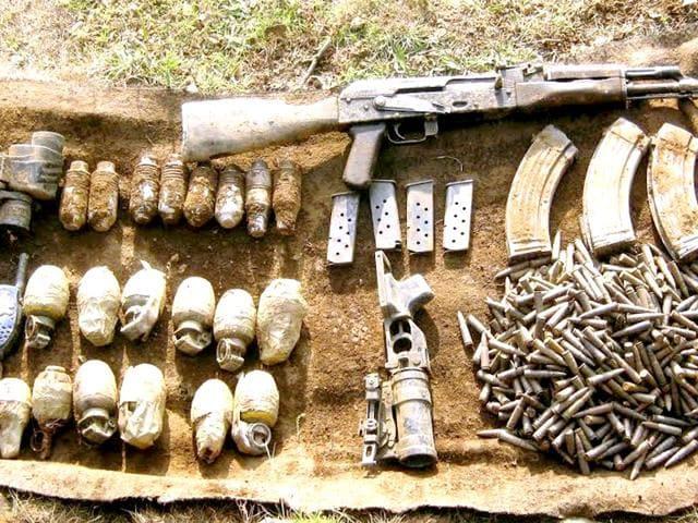Ammunition,Punjab,militancy