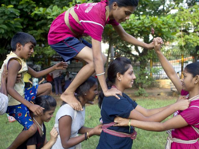 Over the years, all-women's groups have made a mark for themselves by participating in Dahi Handi