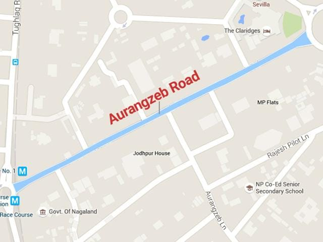 The Delhi government has decided to rename the Aurangzeb Road in the heart of the national capital after APJ Abdul Kalam to honour the former President. (Arun Sharma/HT Photo)