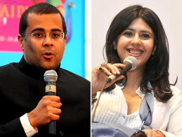 Ekta Kapoor and Chetan Bhagat are coming together for Kuch Toh Hai Tere Mere Darmiyaan.