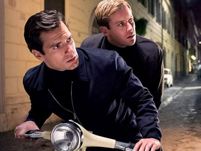 Henry Cavill and Armie Hammer play a pair of spies in Man from U.N.C.L.E.