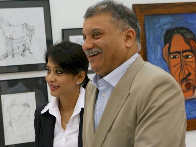 Indrani Mukerjea and her husband Peter Mukerjea. (File Photo)