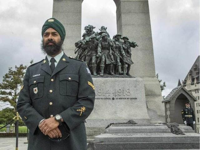 Sikh,Tomb of Unknown Soldier,Canada