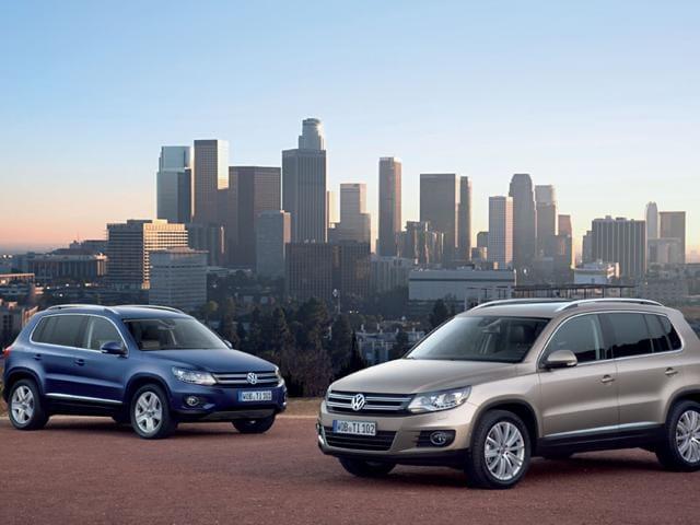 Volkswagen Tiguan,CC vehicles,Frankfurt International Motor Show