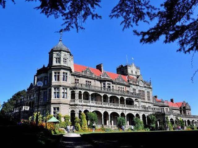 The Bristish era building, Indian institute of Advance Study in Shimla. (HT file photo)
