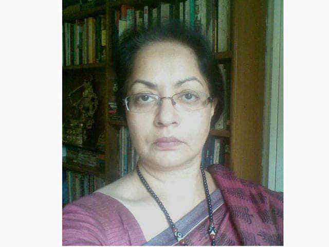 Gagan Gill, wife of iconic writer Nirmal Verma