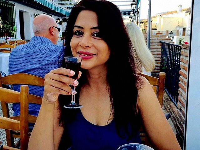 A file photo of Indrani Mukerjea who was arrested by Mumbai Police for allegedly murdering her daughter Sheena Bora. (PTI Photo)