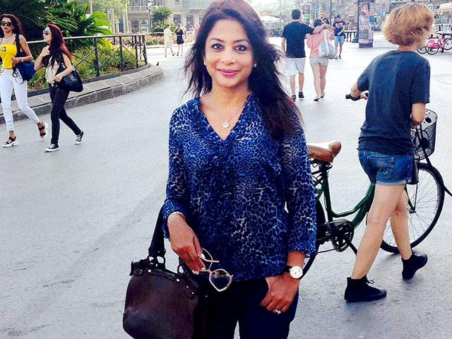 A file photo of Indrani Mukerjea who was arrested on Tuesday by Mumbai Police for allegedly murdering her daughter Sheena and disposing of the body in Raigad in 2012. (PTI Photo)