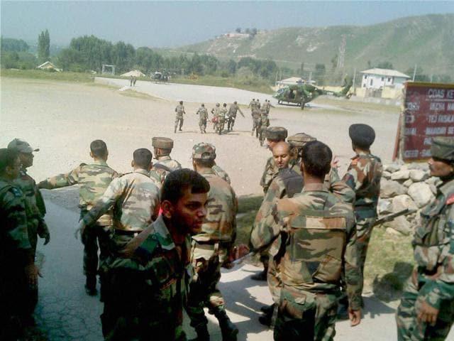 Explosion,Army training centre,Core Battle School