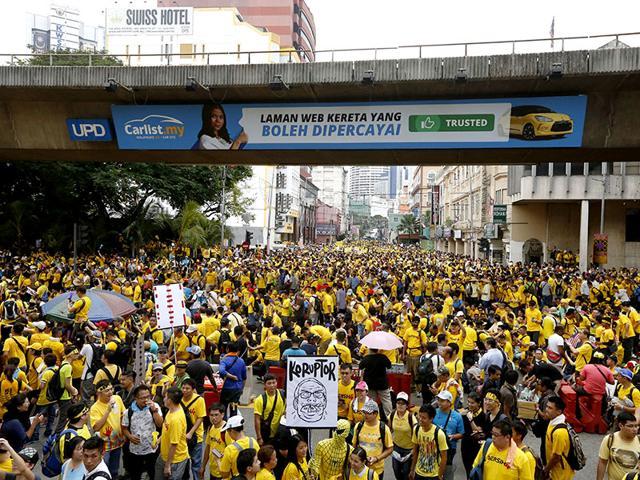 Malaysia,Protests in Kuala Lumpur,Najib Razak
