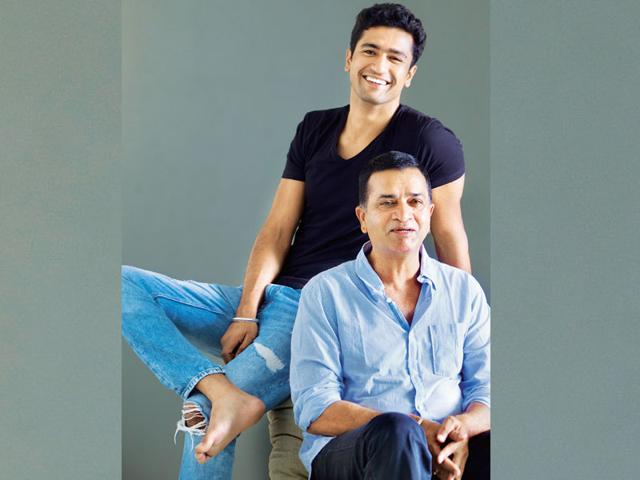 For action director Sham Kaushal and his actor son Vicky, Bollywood has been more than a roller coaster ride, it's now an industry to bond over anew. (Photo: Satish Bate)