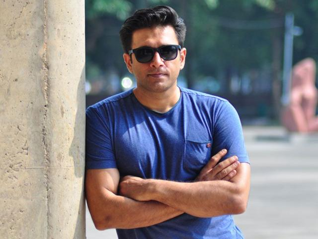 Vivek Gomber has acted in as well as produced the film Court (Karun Sharma/HT)