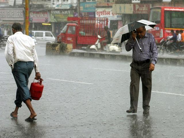 rainfall in Madhya Pradesh