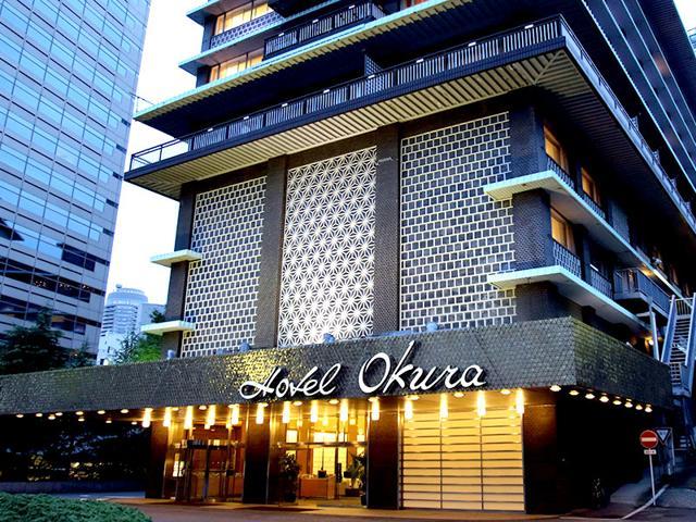 Main building of Japan's iconic Hotel Okura in Tokyo. (AFP Photo)