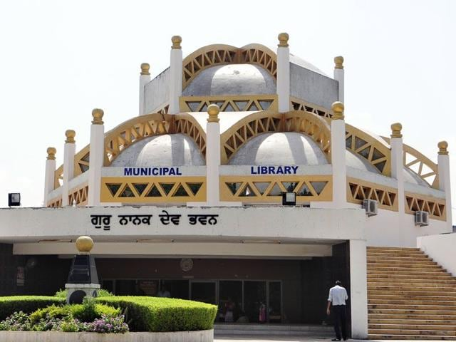 municipal corporation,library,Guru Nanak Dev Bhawan