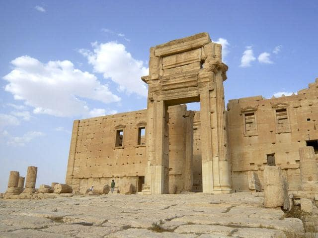 Islamic State,Temple of Bel,Palmyra