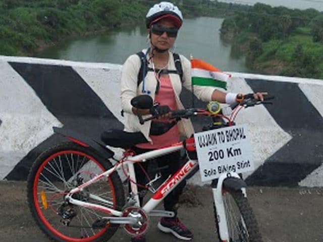 Dr Archana Kothari,biking tour,Youth Hostel Association of India