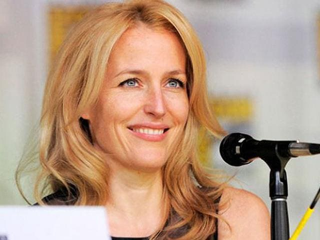 Gillian Anderson is known for her role as Dana Scully in TV series The X-Files. (AP Photo)