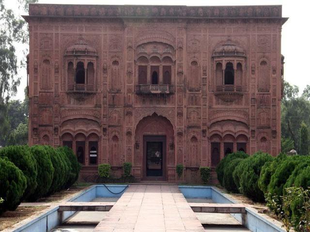 Museum of Social History of Rural Punjab at Punjab Agricultural University (PAU) in Ludhiana. (JS Grewal/HT)