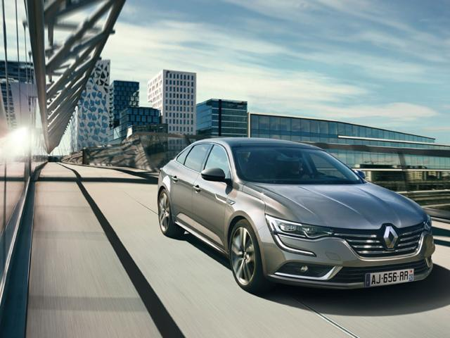 The Talisman will be a highlight of the Renault stand at the 2015 Frankfurt Motor Show. Photo:AFP