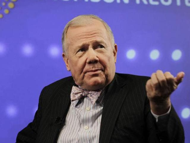 Commodities trading guru and hedge fund manager Jim Rogers (Reuters Photo)