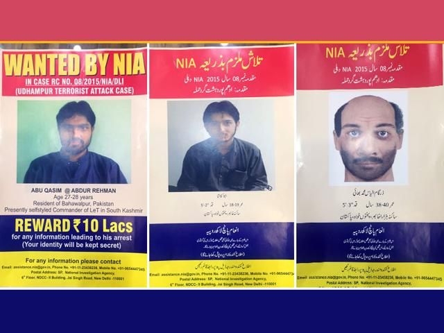 NIA announces Rs 10 lakh bounty on Udhampur attack mastermind
