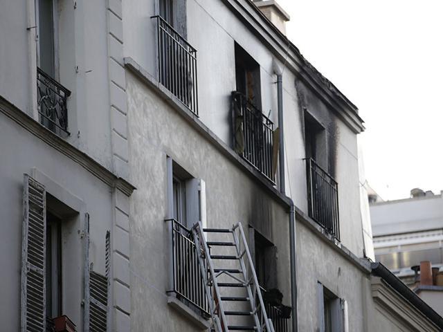 Fire,Apartment,Paris