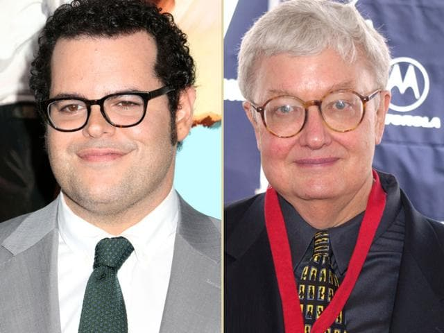 Jash Gad,Roger Ebert,Josh Gad Roger Ebert