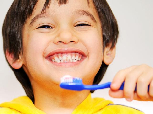 There's now a tooth brushing app that has been designed to encourage youngsters to adopt and maintain an effective oral health care routine. (Shutterstock Image)
