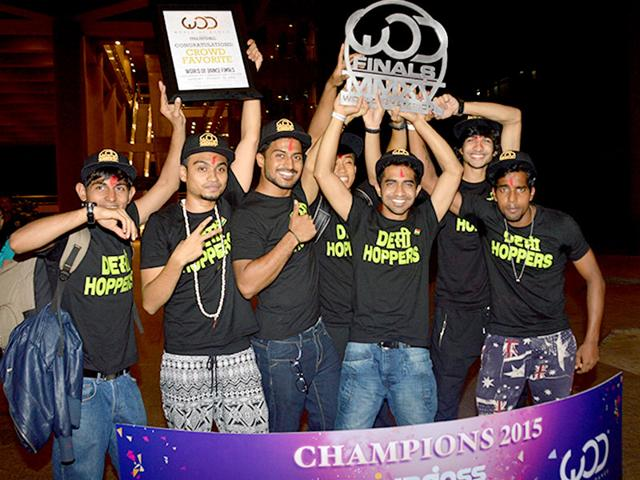 In what sounds like a real-life version of the movie ABCD, the Desi Hoppers became the first Indian crew to make it to World of Dance (WOD) competition. (Photo courtesy: Bindaas Naach)