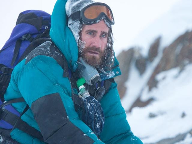 Everest has actors Jason Clarke and Jake Gyllenhaal as Rob Hall and Scott Fischer, leaders of rival expeditions on the mountain.