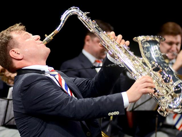 In 2012, Russian saxophonist Igor Butman performed at the Jus' Jazz concert and remains a regular visitor. (HT file photo)