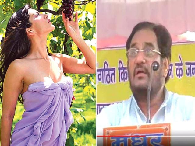 CPI leader Atul Kumar Anjan made a statement claiming that actor Sunny Leone's condom advertisements promote rapes in the country. (Screen grab)
