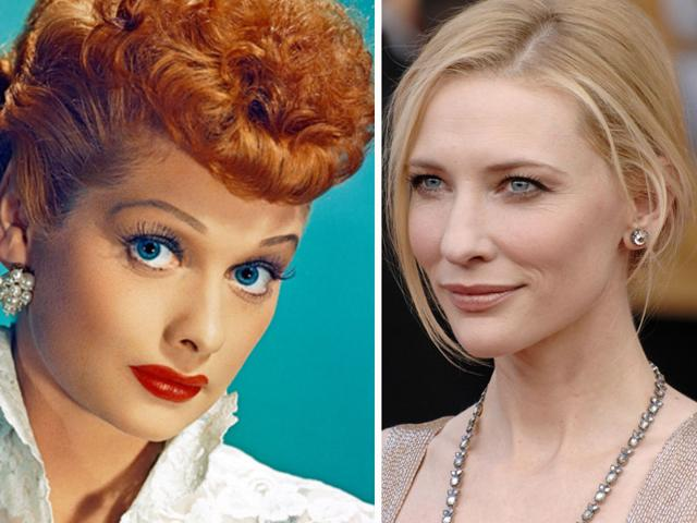 Lucille Balle,I Love Lucy,Lucille Ball Cate Blanchett