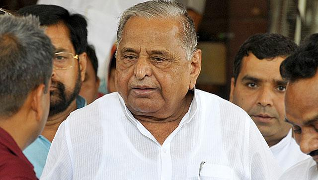 SP chief Mulayam Singh Yadav has said he felt sad for ordering firing on 'karsevaks' in Ayodhya in 1990 but it was necessary. (File photo)
