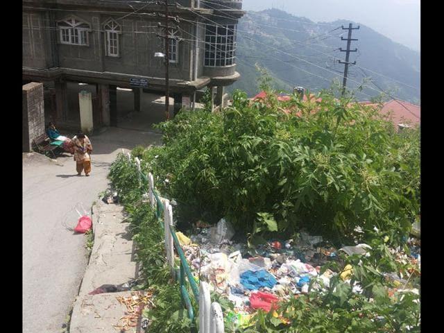 sanitation workers strike,shimla,himachal pradesh
