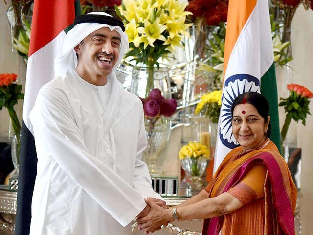 Sushma Swaraj,India,UAE