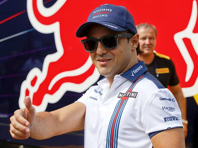 Williams Formula One Team driver Felipe Massa of Brazil at the Monza racetrack, in Monza, Italy , on September 3 , 2015. Felipe Massa and Valtteri Bottas will drive for the team for a third consecutive season, the team announced on Thursday. (AP Photo)