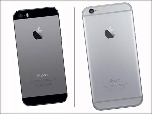 While iPhones 5/5S have a sharp look, the iPhones 6/6 Plus have a curvy, phablet look. Which one do you like more?