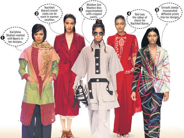 Trends at Lakmé Fashion Week
