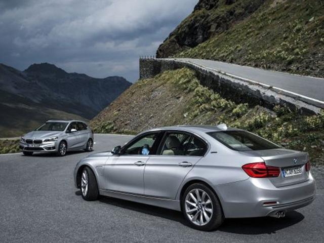 Two new eDrive hybrids are joining the BMW range in Frankfurt. Photo:AFP