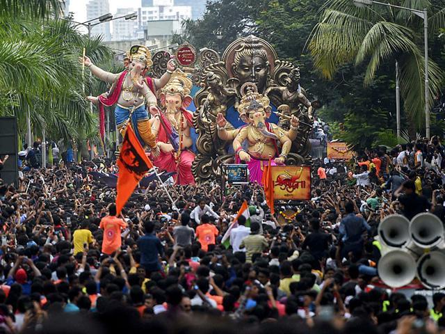 Ganesh pandals