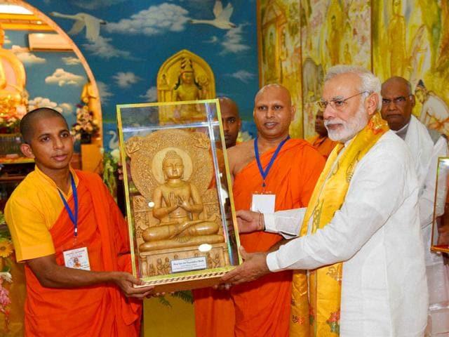 PM Modi,Modi in Bodh Gaya,Hindu-Buddhist conclave