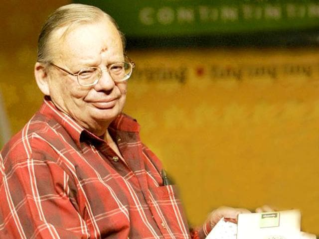 Ruskin Bond was conferred with Padma Bhushan in 2014.