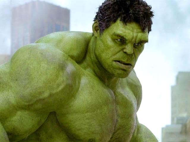 You don't like it when Hulk angry. (Twitter)