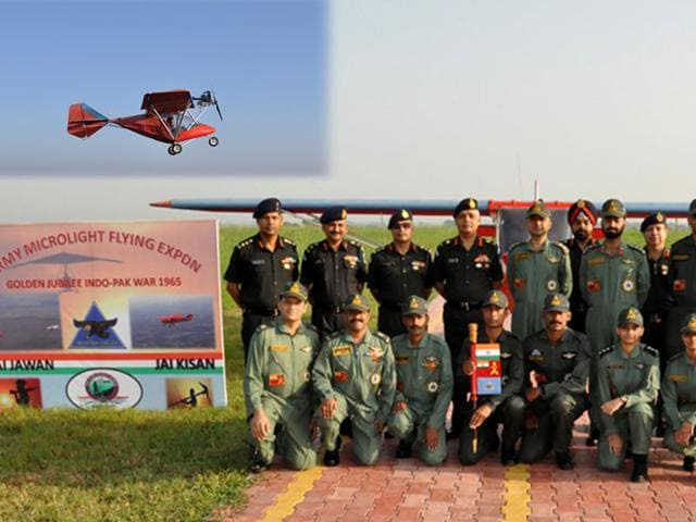 Indo-Pak war of 1965,Army Microlight Expedition,Military College of Telecommunication Engineering