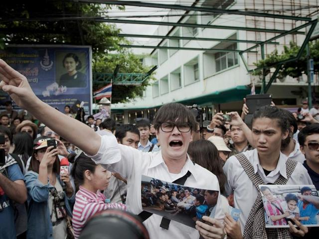 Thai student protests