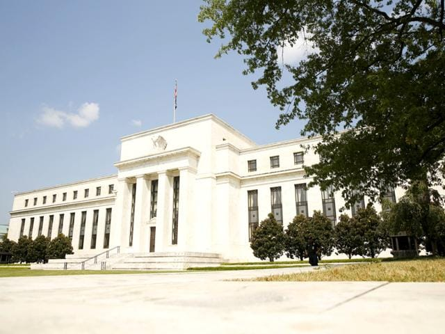 The Federal Reserve building in Washington. (Reuters Photo)