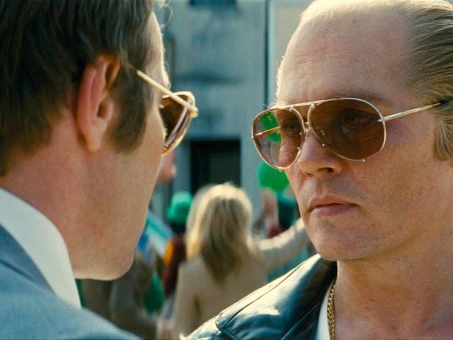 Johnny Depp's performance in Black Mass is a far cry from the quirky yet charming characters one has seen him as in Tim Burton movies. (Venice Film Festival)
