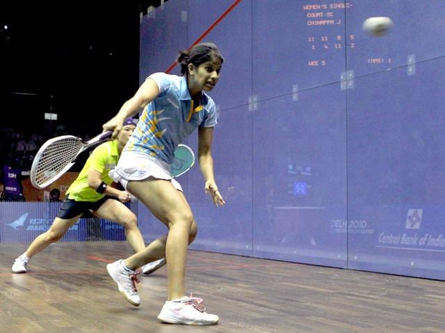 Joshna Chinappa,Squash,national champion